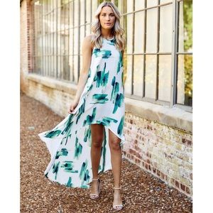 Anthropologie Asher Harwell Dress in Green